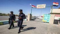 الشرطة العراقية في مناطق بغداد (أحمد الربيعي/فرانس برس)
