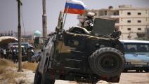القوات الروسية في سورية/ Getty