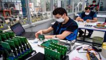 اقتصاد المغرب تضرر كثيراً من تداعيات الفيروس (فرانس برس)