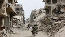 مخيم اليرموك/سياسة