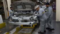 الدعم الفرنسي يعد شركات السيارات بالاستمرارية (فرانس برس)