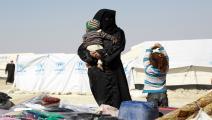 مخيم الهول/غيتي/مجتمع