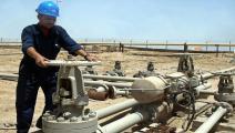 العراق-نفط العراق-نفط البصرة-2-12-فرانس برس