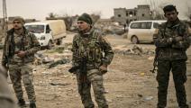 قوات سورية الديمقراطية/Getty