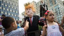 تظاهرة ضد سياسة ترامب حول الأطفال المهاجرين - مجتمع