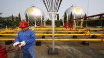 مصفاة نفط في الصين (Getty)