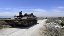 قوات النظام السوري-سياسة-جورج أورفليان/فرانس برس