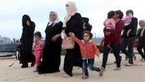 مهاجرات غير شرعيات جرى إنقاذهن في ليبيا - مجتمع
