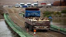 التجارة مستمرة على الحدود العراقية - السورية (فرانس برس)