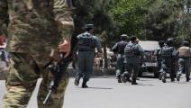 قوات الأمن الأفغانية-سياسة-هارون صاباوون/الأناضول