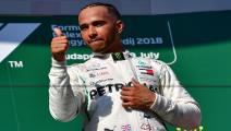 هاميلتون يحسم سباق المجر للفورمولا 1