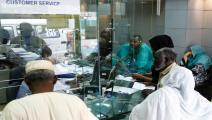 بنك في السودان/ أشرف الشاذلي/فرانس برس