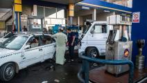 محطة وقود مصر بنزين KHALED DESOUKI/AFP