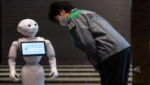 روبوت في اليابان (فيليب فونغ/فرانس برس)