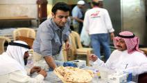 مطعم في الكويت (ياسر الزيات/فرانس برس)