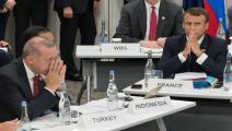 سياسة/ماكرون وأردوغان/(جاك ويت/فرانس برس)