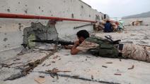 سياسة/اشتباكات اليمن/(أحمد الباشا/فرانس برس)