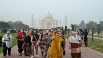 تاج محل في الهند (روان شارما/فرانس برس)