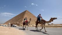 السياحة في مصر MOHAMED EL-SHAHED/AFP