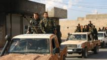 سياسة/الجيش الوطني السوري/(نذير الخطيب/فرانس برس)