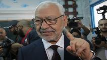 راشد الغنوشي يشارك بالانتخابات التونسية (غيتي)