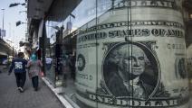 الدولار في مصر (خالد الدسوقي/فرانس برس)