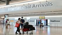 مطار هيثرو في بريطانيا / فرانس برس