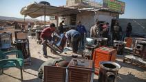 تدابير فاقمت البطالة بين الشباب السوريين (فرانس برس)