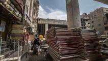 أعباء الضرائب أنهكت المصريين والشركات (فرانس برس)