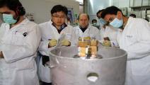 إيران/تخزين اليورانيوم/Getty