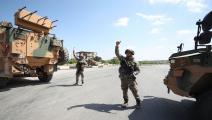 سياسة/قوات تركية في سورية/(عمر حاج قدور/فرانس برس)