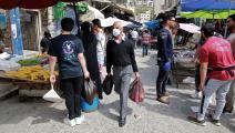 الأردن فيروس كورونا KHALIL MAZRAAWI/AFP