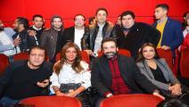 """كريم عبد العزيز يحتفل بعودته للسينما بـ""""نادي الرجال السري"""""""