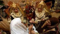 عادات الزواج متوارثة في الجزائر (فايز نور الدين/فرانس برس)