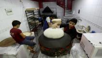 خبز سورية (عمر حاج قدور/ فرانس برس)