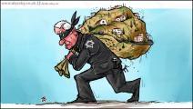 كاريكاتير الاستيطان / حجاج