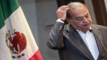 المكسيك/اقتصاد/كارلوس سليم/23-12-2015 (فرانس برس)