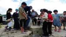 أزمة المياه في إدلب(مصطفى أوزر/فرانس برس)