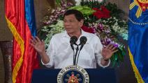 الفلبين/الرئيس رودريغو دوتيرتي/نويل سيليس/فرانس برس