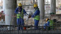 عمال في قطر (GETTY)
