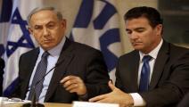 فلسطين المحتلة/سياسة/نتنياهو ويوسي كوهين/(غالي تبون/فرانس برس)