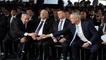 نتنياهو وغانتس/ الاحتلال الإسرائيلي