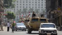 سياسة/قوات الأمن المصرية/(محمد محمود/الأناضول)