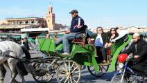 المغرب/اقتصاد/سياحة المغرب/31-12-2015 (فرانس برس)