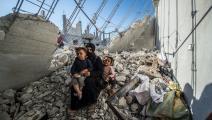 دمار في سورية/ الأناضول