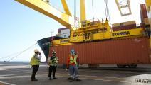 قطر ميناء حمد فرانس برس 2017