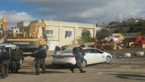 جرافات الاحتلال تهدم منزل عائلة عبيدو المقدسية (العربي الجديد)