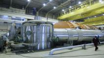 داخل مفاعل محطة بوشهر النووية الإيرانية-(حامد مالكبور/فرانس برس)