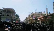 تظاهرات/درعا/سورية/Getty