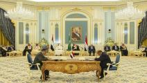 توقيع اتفاق الرياض-سياسة-الأناضول